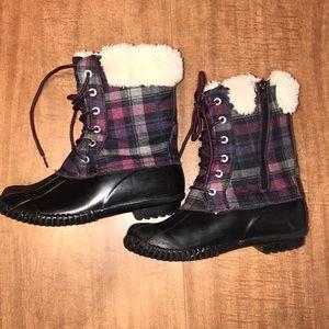 Stevies Winter Girls Duck Boots Size 3